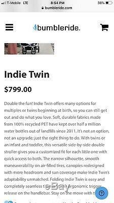 Bumbleride Twin Poussette