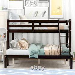 Cadre De Lits Superposés De Contreplaqué Au-dessus De L'échelle Jumelle De Lit Pour L'enfant Adulte De Chambre À Coucher D'enfants