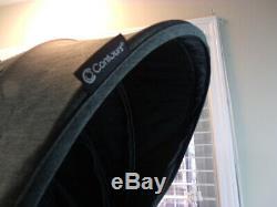 Contours Options Elite Double Tandem Double Poussette Carbon Gris Couleur