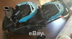Contours Options Poussette Double Twin Elite Elite Laguna Blue 2016