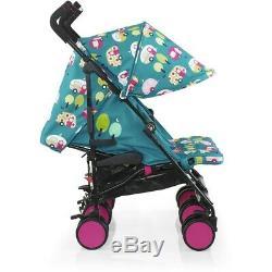 Cosatto Double Twin Bébé Enfant En Bas Âge Poussette Buggy Poussette Inc Raincover