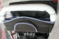 Cynebaby Twin Poussette Trolley Modèle Bd-228 Blue - S5