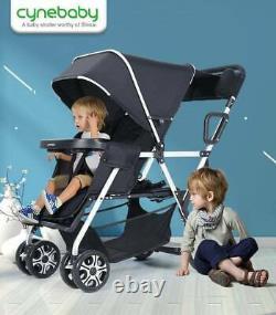 Cynebaby Twin Stroller Trolley 329 $ Détail