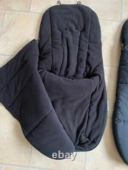 Deux Menottes Noires Bugaboo Âne Unisexe Duo Double Orteils Cosy