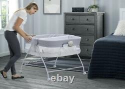 Deux Twin Baby Compact Double Bassin Berceau Berceau Playpen Bedside Bed Side Child