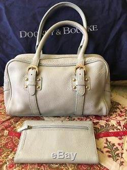 Dooney & Bourke Sac À Main Double Boucle Marchesa Bleu Ciel Avec Porte-monnaie Assorti