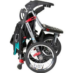 Double Poussette Jogger Buggy Pram Twin Two Side By Side Seat Chair Baby Kid Sit