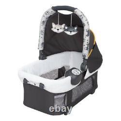 Elite Twins Baby Double Poussette Frame Avec 2 Sièges Auto Combo Nursery Center Sac