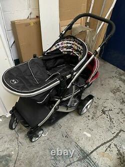 Enfants Kargo Duellette Twin Double Poussette Buggy
