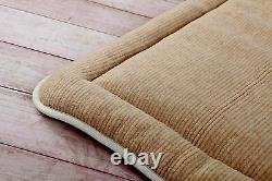 Épais Merino Wool Perugiano Natural Mattress Topper Couvre-lit Tailles King Double