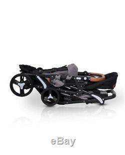Fusion Poussette Double Poussette Double One By One Buggy Easygo Tandem Nouveau 2019