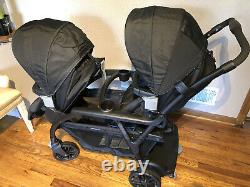 Graco Baby Modes Duo One-hand Fold Twin Tandem Double Stroller Balancing Act Nouveau