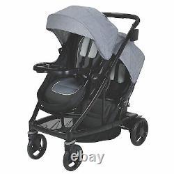Graco Baby Uno2duo Twin Tandem Double Poussette Avec Second Seat Hayden 2018 Nouveau