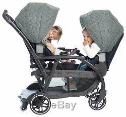 Graco Modes Réversible Duo Tandem Poussette Double Poussette De La Naissance Baby Buggy