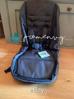 Icandy Orange Seat Fabric Principale Ou Secondaire New Bnwt Noir Gratuit P + P Double Twin