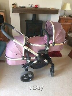 Icandy Peach Double Marshmallow Pleine Twin Set Up From Birth And Beyond