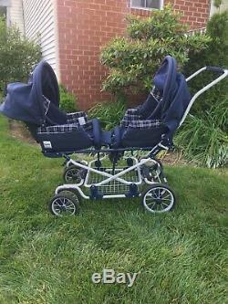 Inglesina Twin Pochette Baby / Toddler / Enfant Bleu Marine