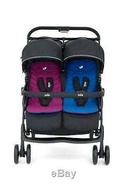 Joie Aire Double Rose / Bleu Double Poussette Poussette Seat