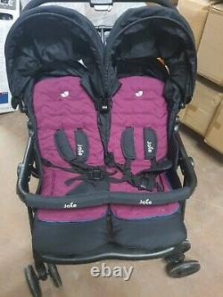 Joie Aire Twin Poussette Rosy & Mer £140