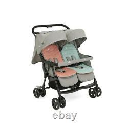 Joie Aire Twin Pushchair Nectar Et Poussette Minérale Pushchair Baby Kids Travel