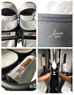 Landau Premium Premium Junama Madena Duo Poussette Double Poussette Baby Twins
