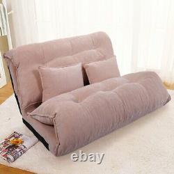 Lit Double Canapé Futon Chaise Daybed Lounge Meubles Chambre D'hôtes Moam Sleeper