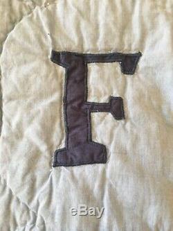 Main Multicolor Lettres Alphabet Animaux Enfant Lit Bébé Quilt Twin Double Ss