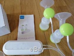 Mam Électrique Et Manuel Pompe Double Escalope 2 En 1 Twin Baby Bottle