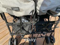 Mamas And Papas Cruise Double/twin Pushchair Buggy Utilisé Deux Fois! Prix Conseillé £169.99