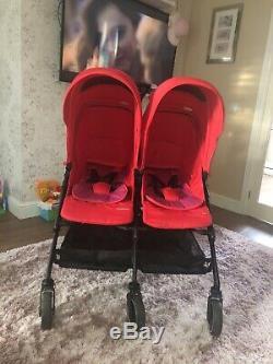 Maxi Cosi Dana Pour 2 Red Double Twin Landau Poussette