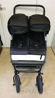 Mountain Buggy Duo V2.5 Avec Twin Carrycot Plus