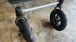 Mountain Buggy Evolution Duet Twin V3 Double Poussette Noire Légèrement Utilisée