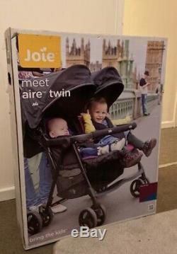 Nouveau Coffret Joie Aire Double Rose / Bleu Double Poussettes Siège Poussette Bébé Enfant En Bas Âge