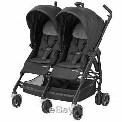 Nouveau Maxi Cosi Dana Pour 2 Twins Black Raven Avec Garantie