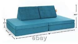 Nugget Comfort Kids Couch Atlantis Brand Nouveau Microsuede À Double Brosse Soft Mtl
