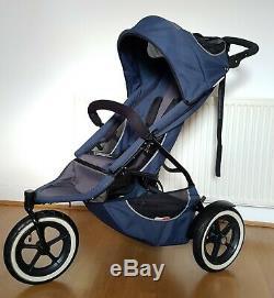 Phil Et Teds Sport Jogger Double Twin Buggy & Poussette Second Seat Cocoon
