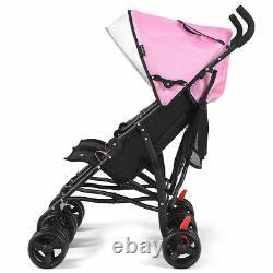 Poussette Double Bébé Pliable Pour Enfants Poussette Parapluie Ultra-légère