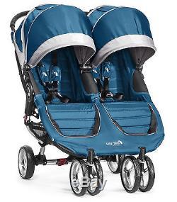 Poussette Double Double Baby Jogger City Turquoise / Gris Nouveau