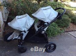 Poussette Double Double City Jogger Baby Select Avec Deuxième Siège