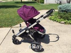 Poussette Double Double City Jogger Baby Select Avec Deuxième Siège Et Accessoires