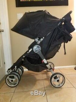 Poussette Double Double Standard Baby Jogger City, Noir