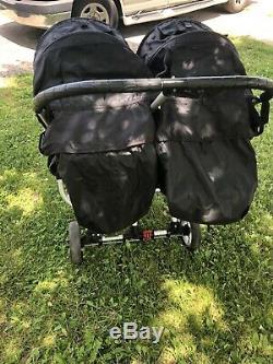 Poussette Double Double Standard Baby Jogger City, Noir A Déchirer