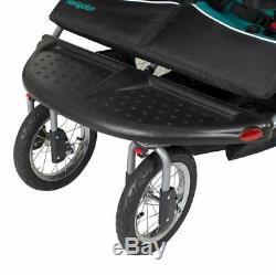 Poussette Double Jogger Buggy Poussette Jumeau Chaise De Siège À Deux Côtés Par Le Bébé Enfant S'asseoir
