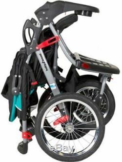 Poussette Double Jogger Navigator Baby Trend Tropic Bébé Enfant Twin Enfants Meilleur