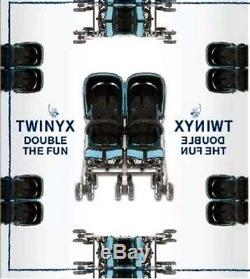 Poussette Jumeaux Poussette Cybex Or Twinyx Stroler U2 0 / Bébé, Enfant £ 4 Années 699