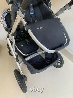 Poussette Twin Uppa Baby Vista + Extras