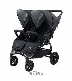 Poussette Valco 2016 Neo Twin In Night (black Lightning) Tout Neuf! Double