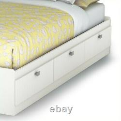 Rive-sud Twin Spark Mates Bed In Pure White