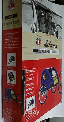 Schwinn Spirit Vélo / Vélo Twin / Double / 2 Enfant Remorque / Poussette En Aluminium Foldin