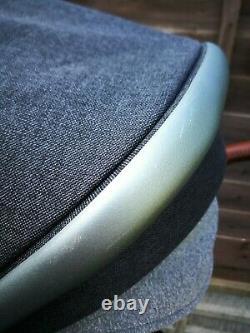 Silver Cross Wave Double Poussette Double Landau Gris Granit